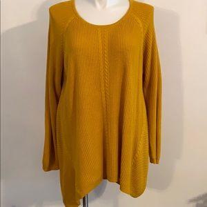 NWT Golden Sweater size 3X DressBarn